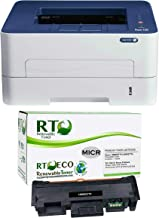 Renewable Toner Phaser 3260DI Wireless Monochrome Laser Check Printer Bundle with..