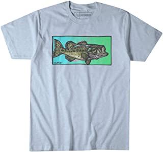 Southern Fin Apparel Bass Fishing T-Shirt for Men Short Sleeve Boys Kids Clothing Gift