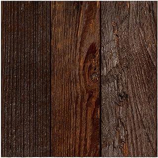 murando - Fototapete selbstklebend 10m 3D Tapete Wandtattoo dekorative Möbelfolie Dekorfolie Fotofolie Wandaufkleber Wandposter Wandsticker - Holz Bretter f-A-0724-j-a