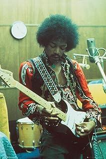 Jimi Hendrix - Music Poster (Studio) (Size: 24 inches x 36 inches)
