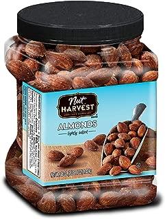 Nut Harvest Almonds, Lightly Salted, 36 Ounce