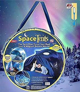 comprar comparacion NiLeFo Tienda de campaña para niños PlayTentsPop Up BedtenCastles Regalo de cumpleaños Ropa de Cama decoración (Espacio)