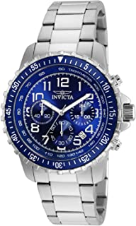 Invicta Specialty Men's Blue Dial Stainless Steel Band Watch - 6621