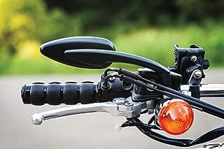 Kuryakyn 6337 Premium ISO Handlebar Grips for Throttle and Clutch: Honda & Triumph Motorcycles, Gloss Black, 1 Pair