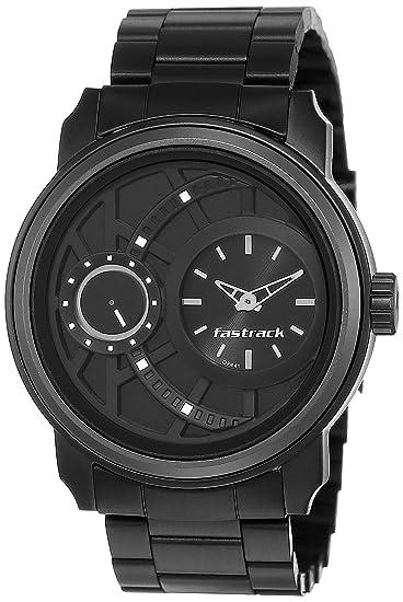 Fastrack Analog Black Dial Men's Watch NM3147KM01/NN3147KM01 Wrist Watches