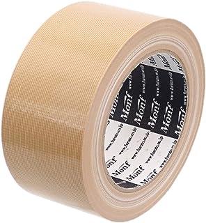 【Amazon.co.jp限定】 古藤工業(Furuto) ガムテープ 布 エコノミー 黄土 50mm x 25m 30巻 AE1001-30
