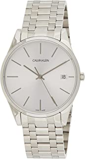 Calvin Klein Time Watch for Men - Analog Stainless Steel Band - K4N21146