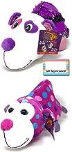 FlipaZoo Flipquins Plush Toys, Animals Sequined Reversible Plush, Stuffed Plush, Gift Ideas for Kids, Unique Christmas, Children Birthday Gift Ideas (GuGu Panda to Mabli Monkey)