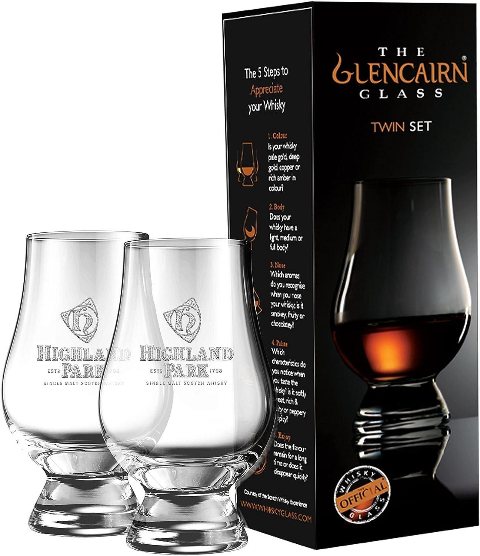 HIGHLAND PARK TWIN PACK GLENCAIRN MALT Finally resale start TASTING In a popularity SCOTCH GLA WHISKY