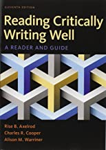 reading critically writing well 11th edition