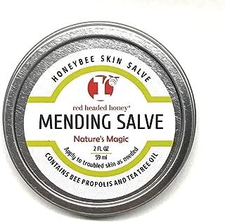red headed honey's Propolis and Tea Tree Oil All Purpose Healing Skin Salve Tin Natural Treatment, 2 oz.