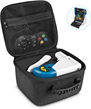 Carrying Case for NEOGEO Mini - Younik Hard Travel Carrying Case for NEOGEO Mini Console, two Controllers, Type C Cable and HDMI Cable