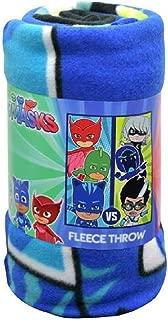 Northwest The Company PJ Masks Throw Blanket,Northwest The Company PJ Masks Throw Blanket, 46 inch x 60 inch, Multicolor 46 inch x 60 inch, Multicolor