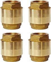Best 4 brass check valve Reviews
