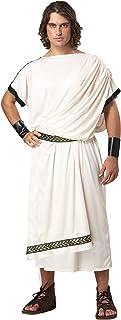 Deluxe Classic Toga (Male) Adult Costume デラックスクラシック利賀(男性)大人用コスチューム♪ハロウィン♪サイズ:Standard One-Size