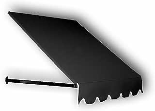 Awntech 5-Feet Dallas Retro Awning, 16 by 30-Inch, Black