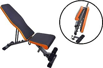 SkyLand EM-1853 Unisex Adult Multi-function Adjustable Weight Bench - Black, L 112 x W 33 X H 41 cm