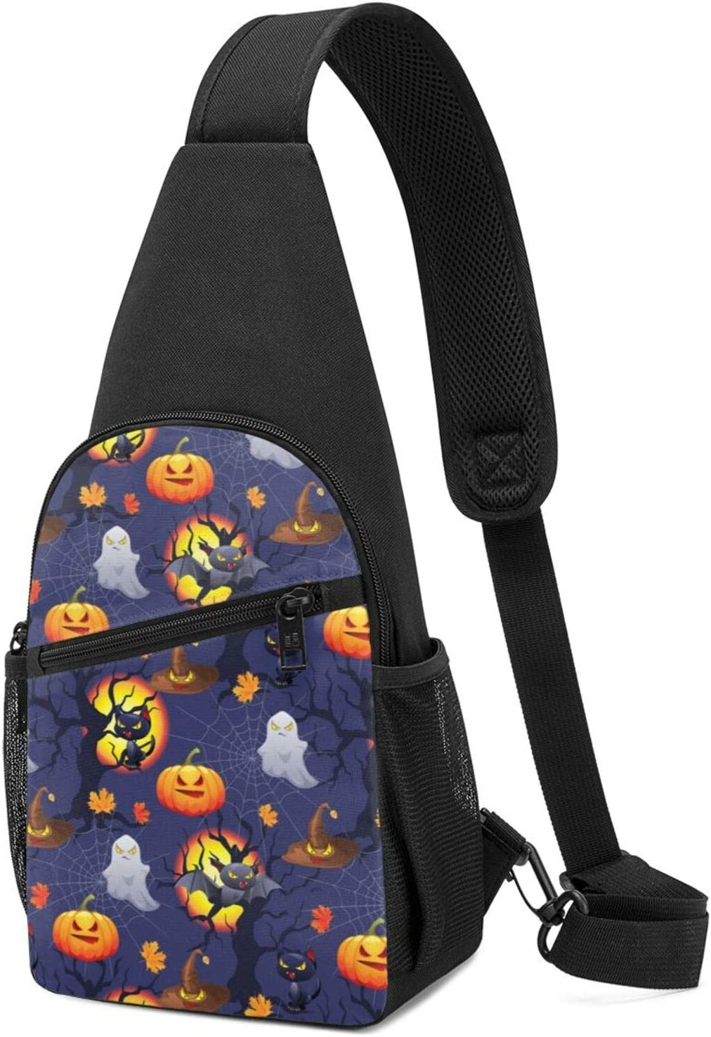 BMAZI Crossbody Shoulder Bag Halloween High material Creatures Objects NEW before selling Lightwe