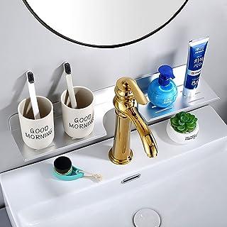 CGLOVEWYL Organisateur de Salle de Bain Rangement en métal Mural Organisateur de Maquillage Rangement Salle de Bain étagèr...