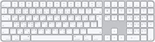 Apple Magic Keyboard with Touch ID and Numeric Keypad (for Mac computers with Apple silicon) - Arabic - Silver