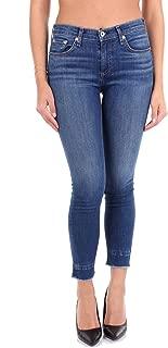 rag & bone Luxury Fashion Womens W1526K520BLMBLUE Blue Jeans | Season Outlet