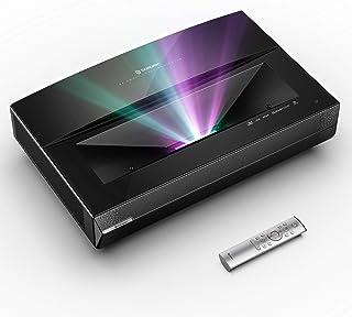 Bomaker 4K UHD Laser TV Projector, Ultra Short Throw, Tri-Laser RGB Projector, 2500 ANSI Lumens, HDR10, WiFi, Bluetooth 5....