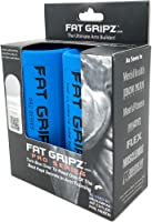 Fat Gripz Pro - The Simple Proven Way to Get Big Biceps & Forearms Fast (Winner of The Men's Health Magazine Home Gym...