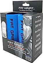 Fat Gripz Pro – sterke biceps en armspieren, de eenvoudige en snelle manier (diameter 5,7 cm) – dikke haltergrepen