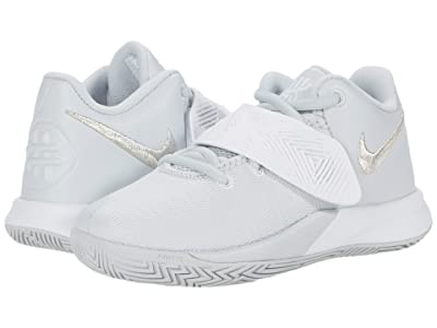 Nike Kids Kyrie Flytrap III (Little Kid) (Pure Platinum/Metallic Silver/White) Kids Shoes