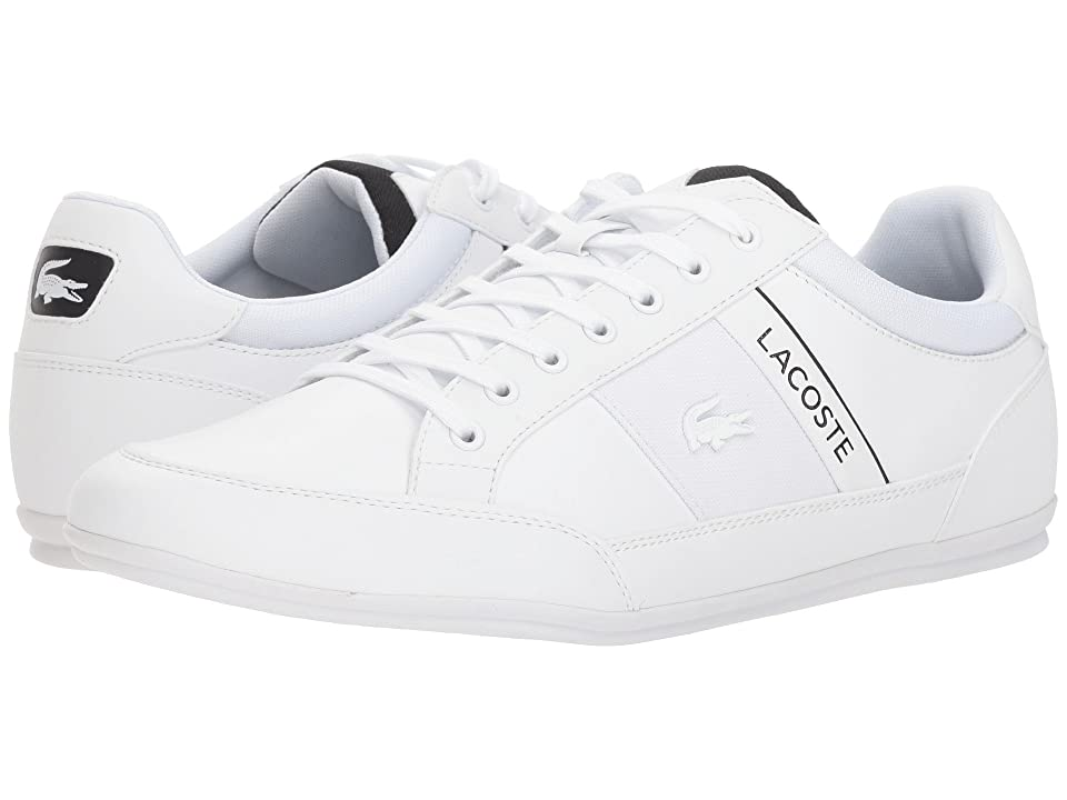 Lacoste Chaymon 318 4 US (White/Black) Men