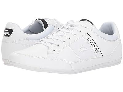 Lacoste Chaymon 318 4 US (White/Black) Men
