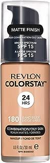 Revlon ColorStay Liquid Foundation For Combination/oily Skin, SPF 15 Sand Beige, 1 Fl Oz
