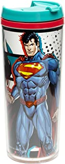 Zak Designs Justice League 7 oz. Insulated Travel Tumbler, Superman