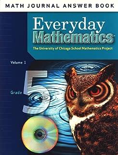 Math Journal Answer Book Volume 1 for Grade 5 Everyday Mathematics