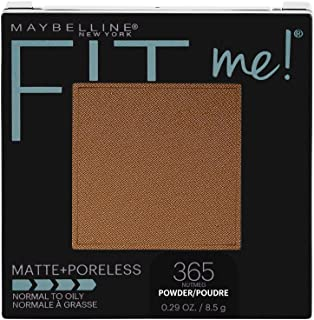 Maybelline New York Fit Me Matte + Poreless Powder Makeup, Nutmeg, 0.29 Ounce, 1 Count
