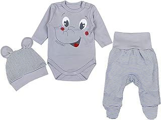 comprar comparacion TupTam Conjunto de Ropa Bebés Body y Pantalones y Gorra