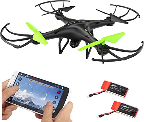 2021 Cheerwing Petrel U42W WiFi FPV discount Drone 2.4Ghz RC Quadcopter with HD Camera Flight Route Mode and Altitude Hold One outlet online sale Key Take Off Landing outlet sale