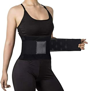 Bunoki Waist Trimmer for Women Men,Neoprene Sweat Bands waist trainer belt for Exercise & Fitness and Weight Loss