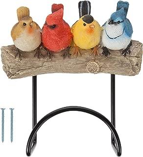 Hose Hanger Spigot Hook Holder Organizer Garden Lawn Bird Design