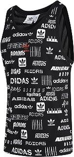 adidas Originals GK9705 Débardeur sans manches avec logo trèfle Noir
