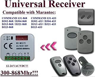 Back To Search Resultsconsumer Electronics Marantec Command 131 D302 D304 D313 D323 D321 Replacement Remote Control 868mhz Very Good Fine Craftsmanship Home Electronic Accessories