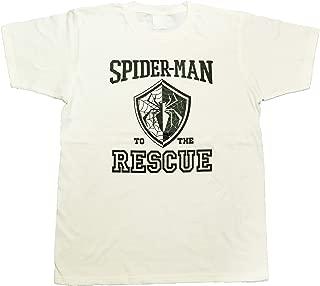 マーベル MARVEL【国内公式監修】Tシャツ スパイダーマン カレッジ風Tシャツ