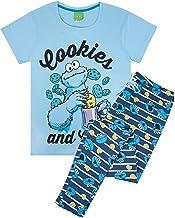 PJ Set Pijamas del Monstruo de Las Galletas de señoras para Mujer para Adultos