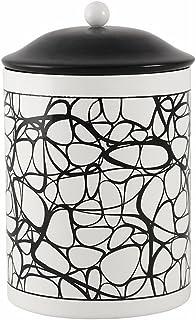 北欧雑貨 スウェーデン ストレームシャガ ブリキ缶 [636701][ブラック]