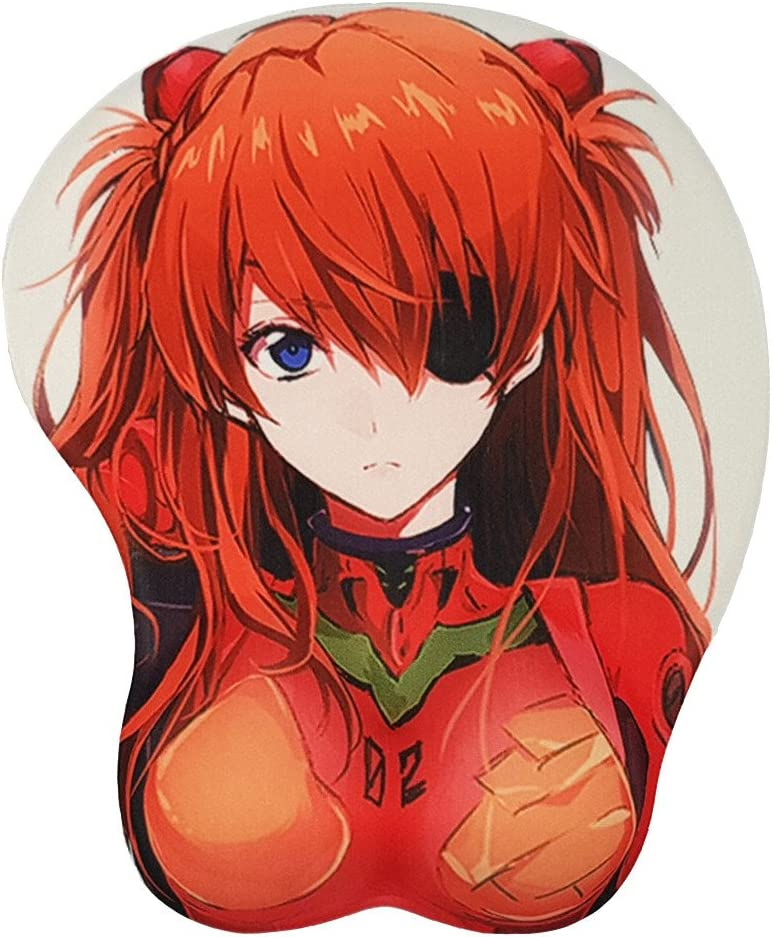 Popular shop is the lowest price challenge Ace Mall Eva Soryu Asuka Langley Gel Mouse Pads Silicone Ranking TOP13 with 3D