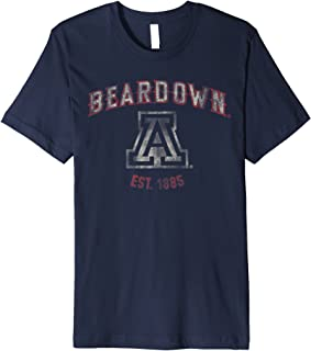 Arizona Wildcats UA NCAA Womens Bear Down T-Shirt uofa1106