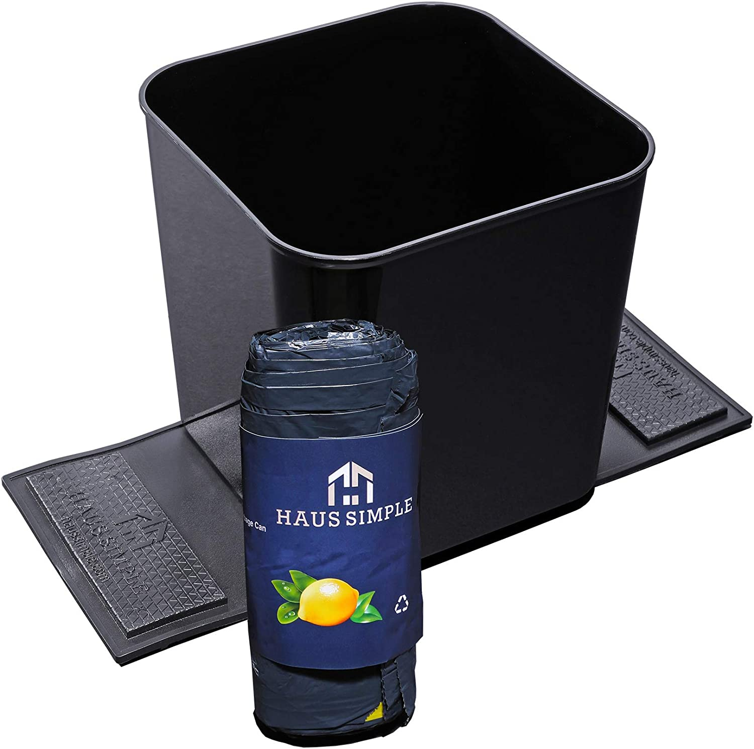 HAUSSIMPLE Car Trash Can Don't miss the campaign Garbage A Large discharge sale Plastic Storage Organizer Bin
