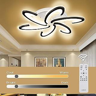 Lampara LED de Cocina, Jior Salon LED Plafon Regulable con Mando a Distancia, Color de Luz / Brillo 72W A+++ Ajustable, para Dormitorio, Pasillo