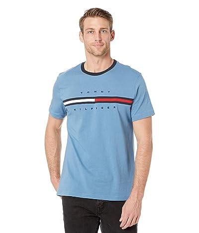 Tommy Hilfiger Tino Short Sleeve T-Shirt (Dull Cobalt) Men