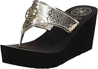 Guess Wedge slipper for Women, Gold, 36.5 EU